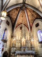 Inside Loretto Chapel Sante Fe