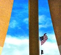 The Flag and the Pillars