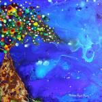 """Aurora Borealis Tree"" by teresamyatberg"