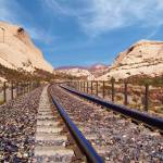 """Cajon Rails - California"" by GlennMcCarthyArtPhoto"