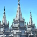 """""""LDS Salt Lake City Temple"""" by Triflour"""