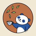 """""""Panda Loves Green Tea"""" by zoe"""