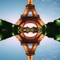 Magic Eiffel Art Prints & Posters by Walter Weinberg