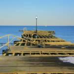 """Hurricane Sandy Beach Pier"" by newimage"