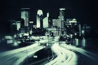 Minneapolis Skyline Vintage
