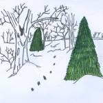 """A Walk in the Snow"" by jmeraz"
