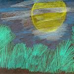 """Moonlight over the Trees"" by jmeraz"
