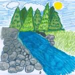 """""""Boulders by the Lake"""" by jmeraz"""
