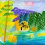 """Cabin on the Lake"" by jmeraz"