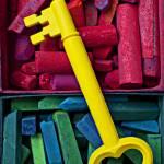 """Yellow key on chalk"" by photogarry"