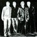 """High Contrast U2"" by KellyEddington"