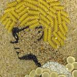 """Pasta Adam Clayton"" by KellyEddington"