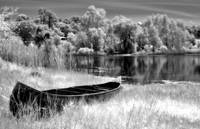 Infrared Canoe and Pond