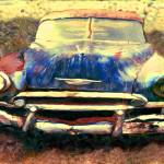 """1952 Chevy in Junk Yard"" by joegemignani"