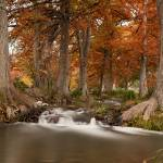 """Texas Hill Country Autumn: Guadalupe River"" by PaulHuchton"