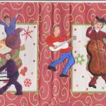 """CHRISTMAS MUSIC WITH GUITAR MAN"" by ARTCREATIONSBYOLGA"