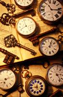 Pocket watches and old keys