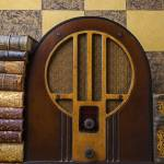 """""""Old radio and books"""" by photogarry"""