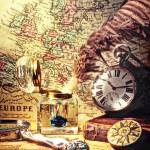 """""""Old maps and ink well"""" by photogarry"""