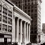 """Bank of California, San Francisco c1910"" by worldwidearchive"