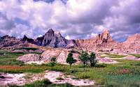 The Badlands Twinish Peaks