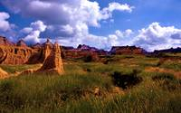 The Badlands Meadow Paradise