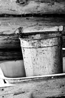 Rusting Syrup Bucket