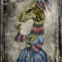 Rococo Dragon Art Prints & Posters by Ben Miller