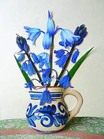 Bluebells in a Small Jug