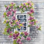 """Rose Cottage Window"" by lisablanchette"