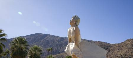 Marilyn Monroe at Palm Springs