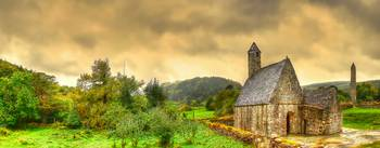 Glendalough Tower & St Kevin's Church
