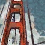 """""""Golden Gate Bridge"""" by oliverart"""
