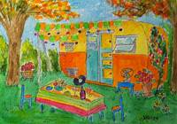 Vintage Dream Camper - Fall Fiesta Time
