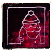 Santa Red Art Prints & Posters by Bret Taylor