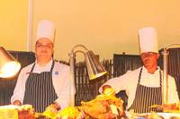 A Pair Of Chefs In Thanksgiving