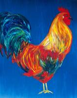 Rooster/Blue