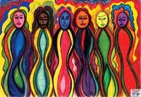 6 six women of color