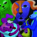 """Dog Band"" by Surreala"
