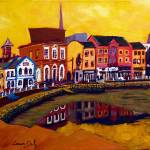 """Crescent Quay, Wexford"" by irishkc"