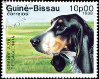 Grande Azul dog stamp.