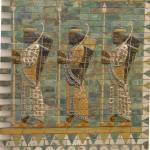 """Assyrian military parade, Pergamon Museum, Berlin"" by circlingtheglobe"