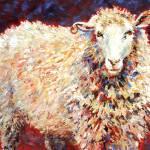 """""""Wish Ewe Were Here"""" by MelanieChambersHartman"""