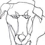 """Stalking Dog 3"" by vangrillo"