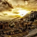 """Syracuse Ampitheatre I - Sicily - Italy"" by madeline"