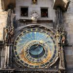 """Prague astronomical clock"" by circlingtheglobe"