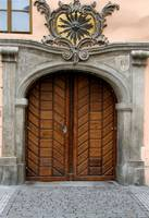 A door in Prague