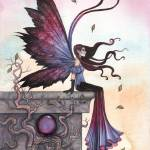 """Amethyst Dream Fairy Art by Molly Harrison"" by robmolily"