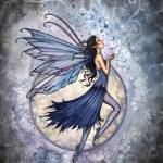"""Midnight Blue fairy by Molly Harrison"" by robmolily"