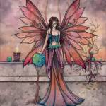 """Elements in Sync Mystical Fairy Fantasy Art Print"" by robmolily"